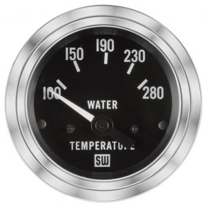 Deluxe Water Temp Gauge P N 82307 Stewart Warner