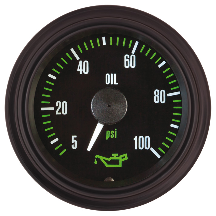 Heavy Duty Plus Oil Pressure Gauge: P/N 82372