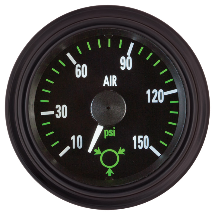 Heavy Duty Plus Oil Pressure Gauge: P/N 82373