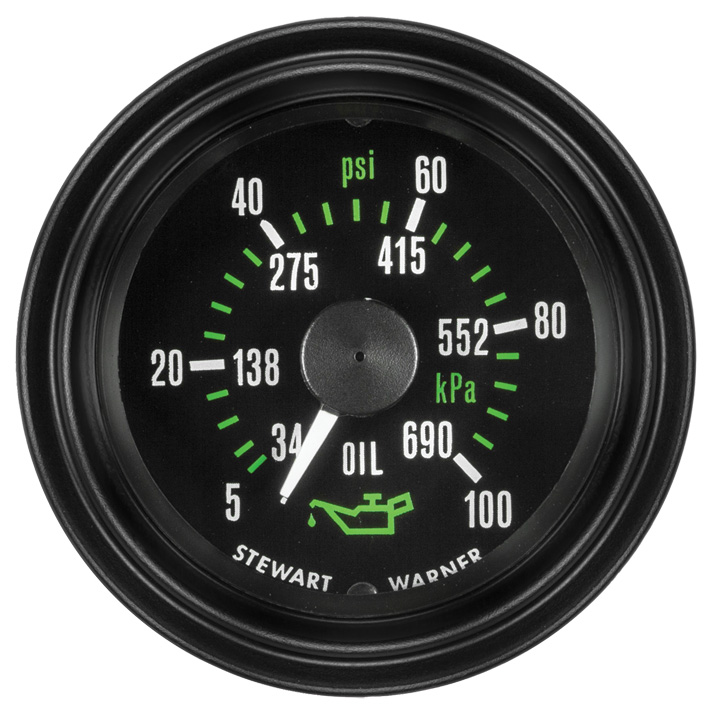 Heavy Duty Plus Oil Pressure Gauge: P/N 82741