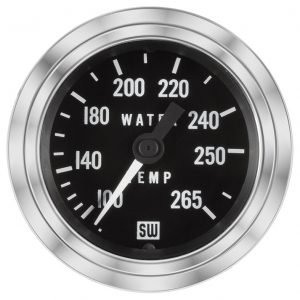 Deluxe Water Temp Gauge P N 82326 144 Stewart Warner